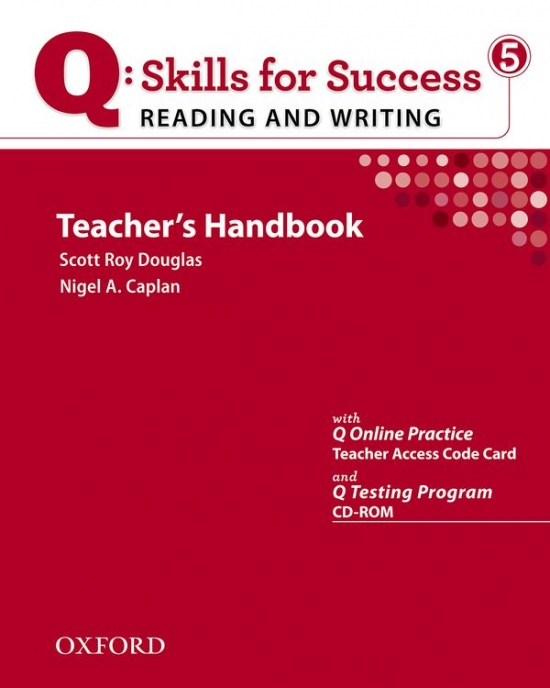 Q: Skills for Success Reading & Writing 5 (Advanced) Teacher´s Book with Testing Program CD-ROM