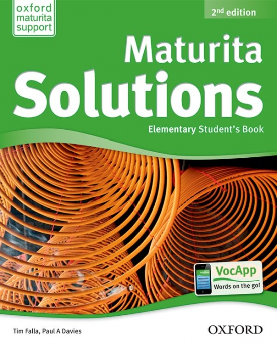Maturita Solutions (2nd Edition) Elementary Student´s Book CZ