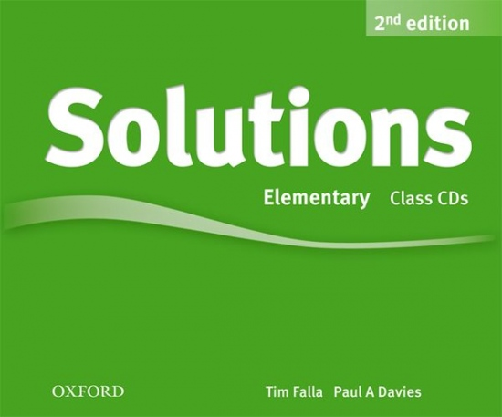 Solutions (2nd Edition) Elementary Class Audio CDs (3)