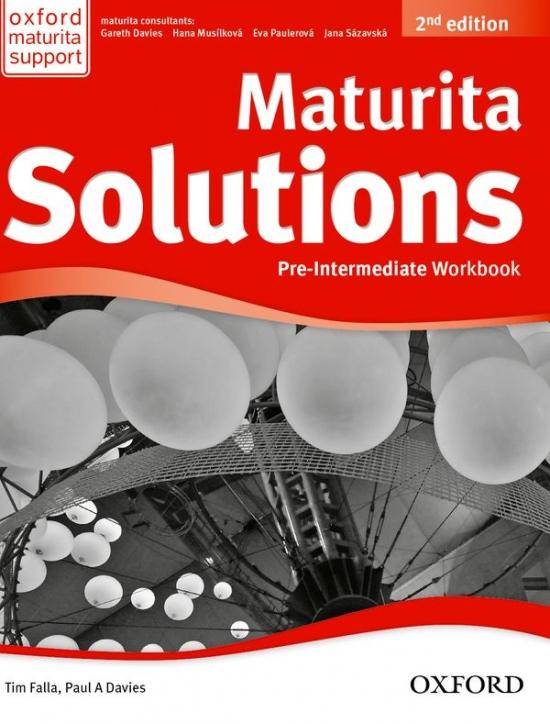 Maturita Solutions (2nd Edition) Pre-Intermediate Workbook with online audio Pack CZ