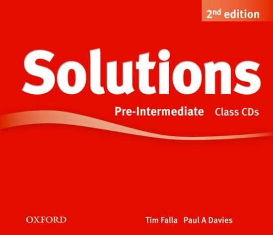 Maturita Solutions (2nd Edition) Pre-Intermediate Class Audio CDs (3)