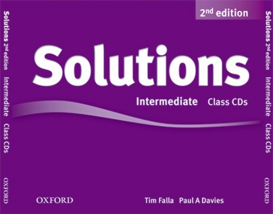 Maturita Solutions (2nd Edition) Intermediate Class Audio CDs (3)