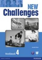 New Challenges 4 Workbook with Audio CD