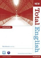 New Total English Advanced Workbook with Answer Key & Audio CD