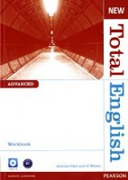 New Total English Advanced Workbook without Answer Key with Audio CD