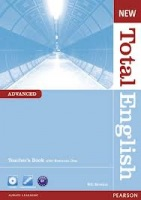 New Total English Advanced Teacher´s Book with CD-ROM