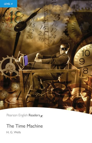 Pearson English Readers 4 The Time Machine Book + MP3 Audio CD