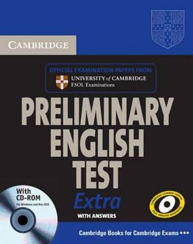 Cambridge Preliminary English Test Extra - PET Self-Study Pack (Student´s Book with Answers and CD-ROM and Audio CDs (2))
