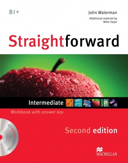 Straightforward 2nd Edition Intermediate Workbook with Key Pack