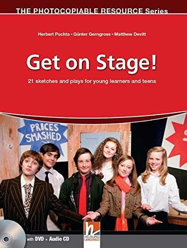 GET ON STAGE! + AUDIO CD + DVD