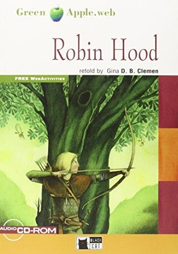 Black Cat Robin Hood with Audio CD (Green Apple level 2)