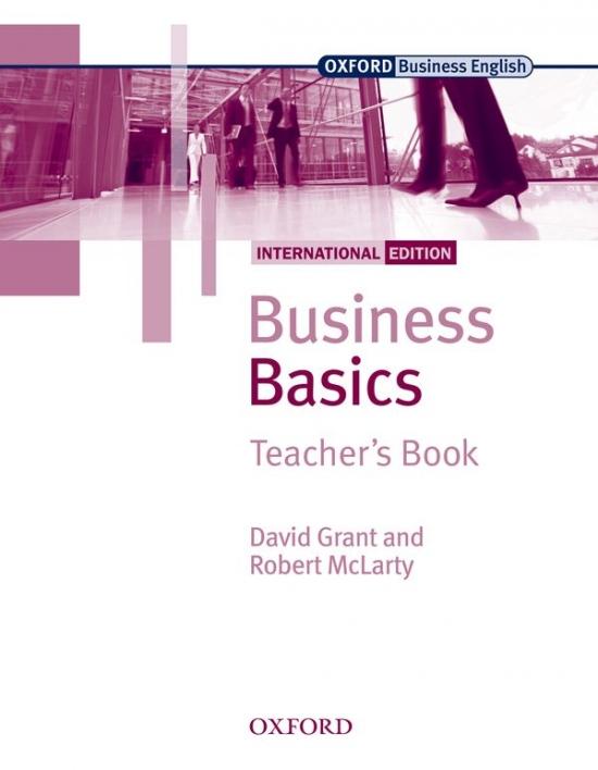 Business Basics International Edition Teacher´s Book : 9780194577762