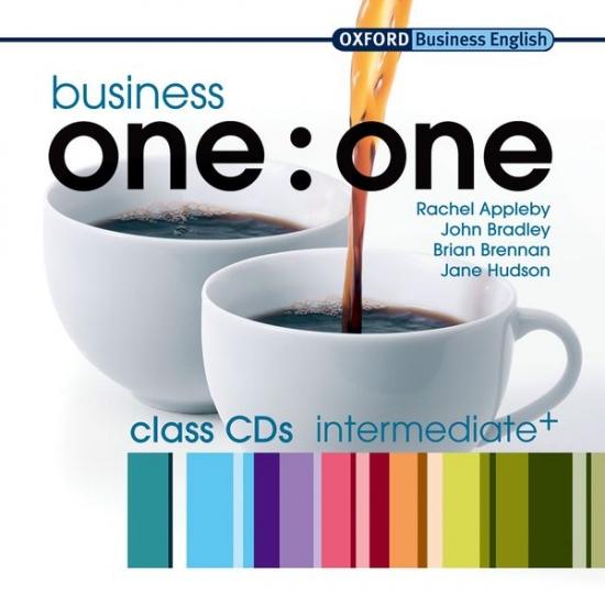 Business one:one Intermediate Audio CDs (2) výprodej : 9780194576468