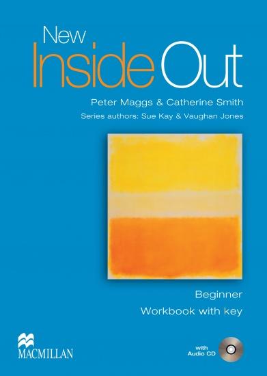 New Inside Out Beginner Workbook (+Key) + Audio CD Pack : 9781405070607