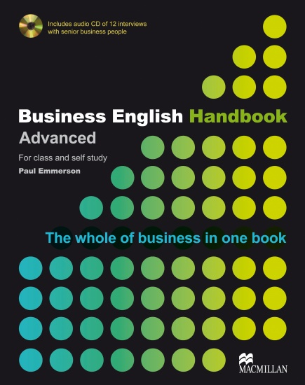 Business English Handbook - Book + Audio CD : 9781405086059