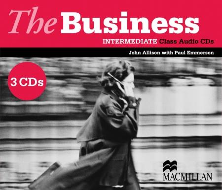 The Business - Intermediate - Class CD : 9781405081849