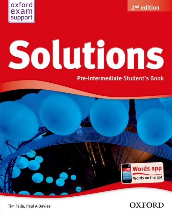 Maturita Solutions (2nd Edition) Pre-Intermediate Student´s Book ( International English Edition) : 9780194552875