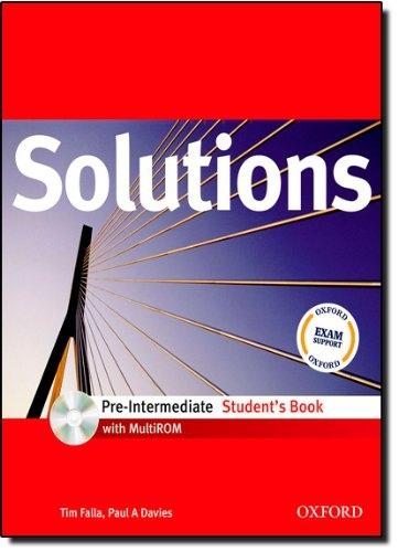 MATURITA SOLUTIONS Pre-Intermediate STUDENT´S BOOK + CD-ROM ( International English Edition)