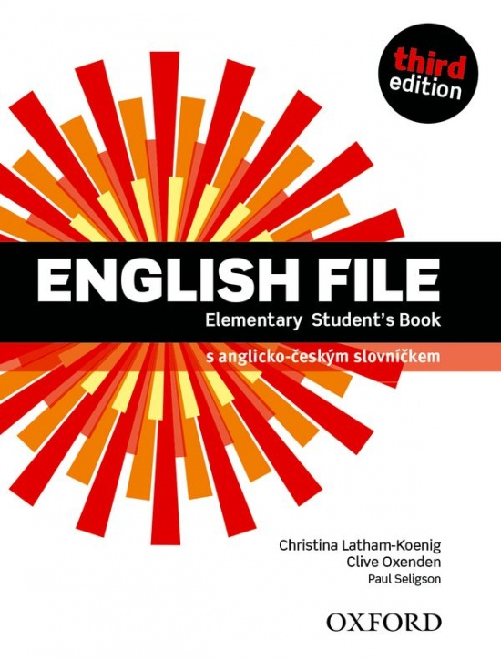 English File Elementary (3rd Edition) Student´s Book with online practice Czech Edition : 9780194598422