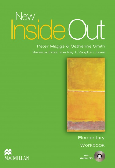 New Inside Out Elementary Workbook without key + Audio CD Pack