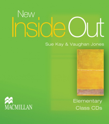 New Inside Out Elementary Class Audio CDs : 9781405086004