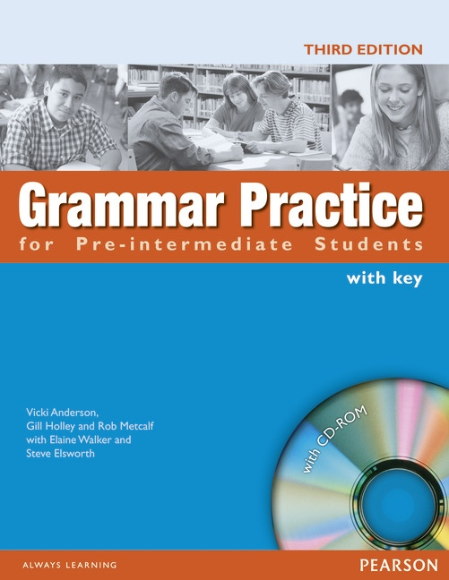 GRAMMAR PRACTICE for Pre-intermediate Students with CD-ROM : 9781405852968