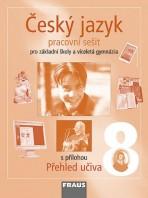 Český jazyk 8 pro ZŠ a VG Pracovní sešit