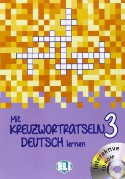 Mit Kreuzwortratseln Deutsch Lernen: Book 3 + DVD-Rom