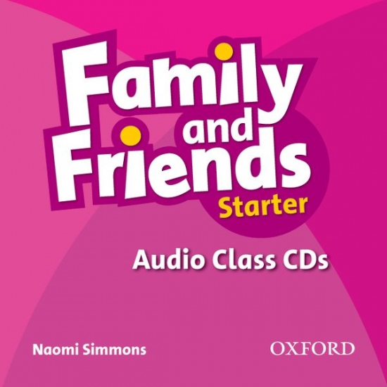 Family and Friends Starter Class Audio CDs (2)
