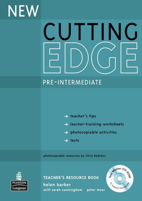 New Cutting Edge Pre-Intermediate Teachers Book with Test Master CD-ROM