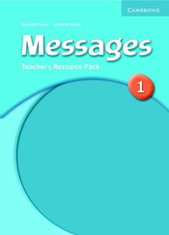 Messages 1 Teacher´s Resource Pack