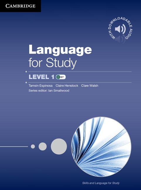 Language for Study 1 (B1-B2) Student´s Book with Downloadable Audio