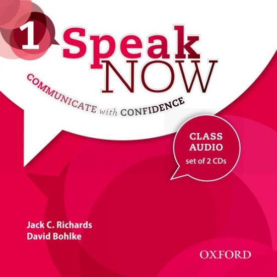 Speak Now 1 Class Audio CDs (2)