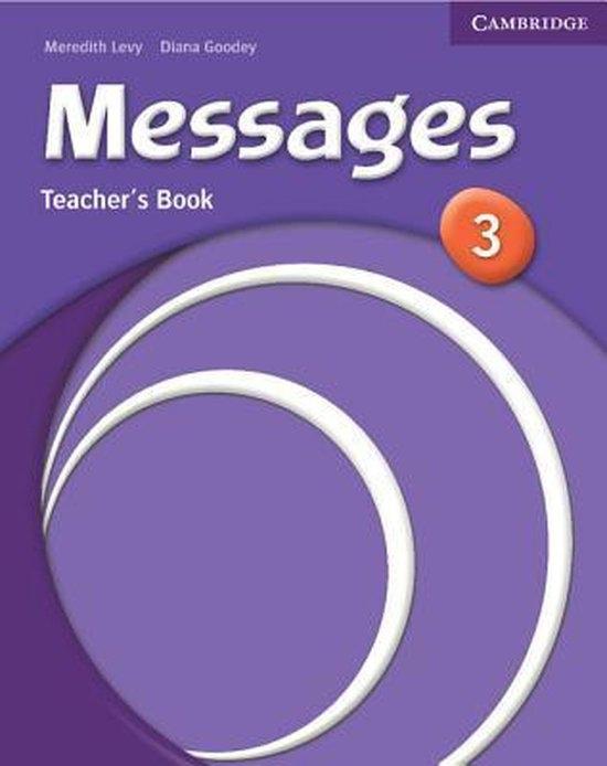 Messages 3 Teacher´s Book : 9780521614351