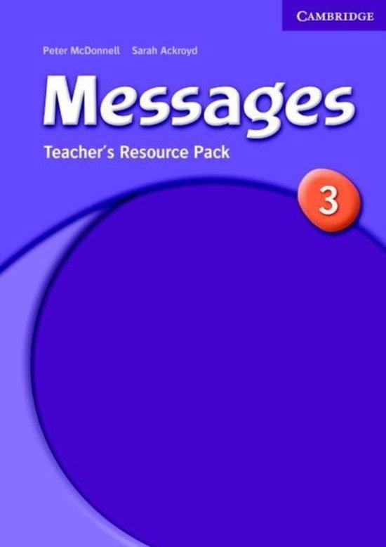 Messages 3 Teacher´s Resource Pack