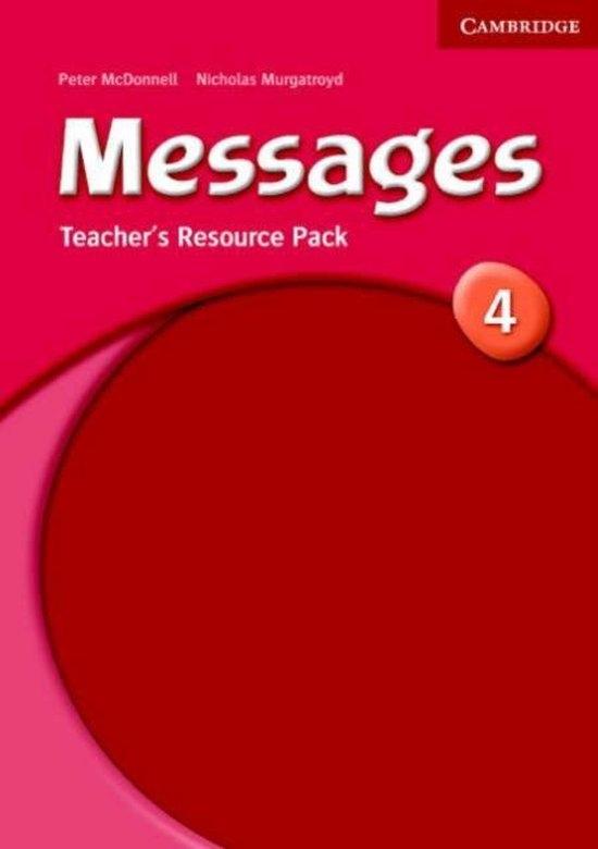 Messages 4 Teacher´s Resource Pack