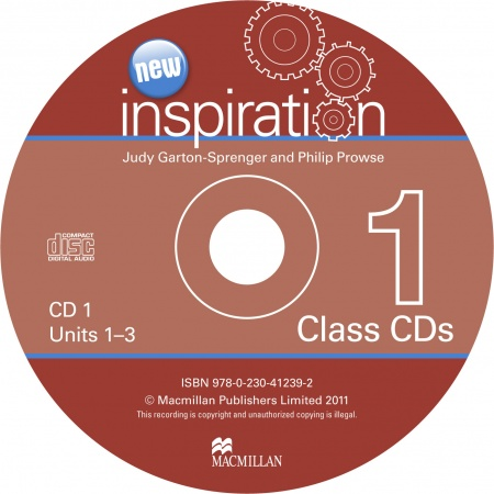 Inspiration 1 Beginner Class Audio CDs