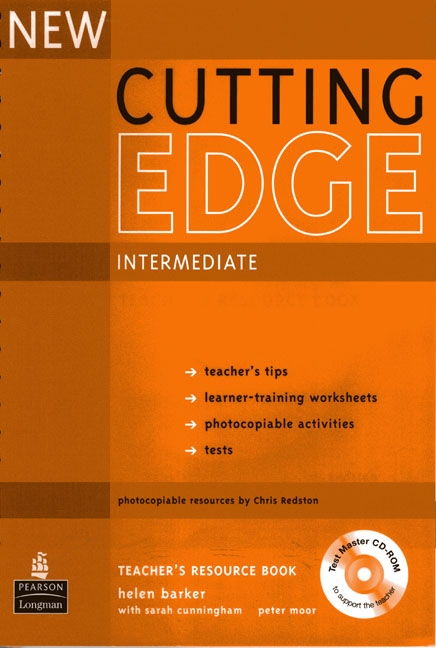 New Cutting Edge Intermediate Teacher´s Book with Test Master CD-ROM