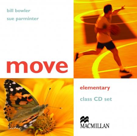 Move Elementary Class Audio CDs (2) : 9781405022972