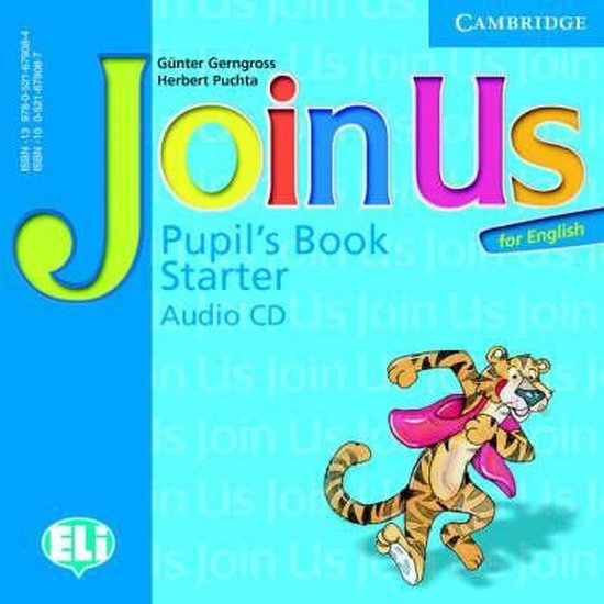 Join Us for English Starter Pupils Book Audio CD