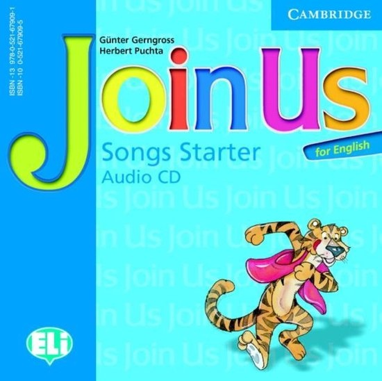 Join Us for English Starter Songs Audio CD : 9780521679091