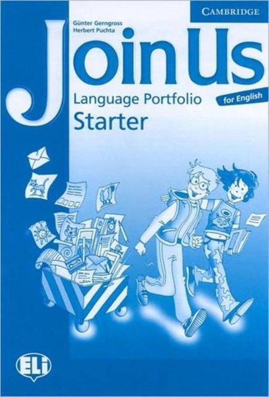 Join Us for English Starter Language Portfolio