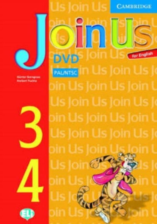 Join Us for English 3 and 4 DVD