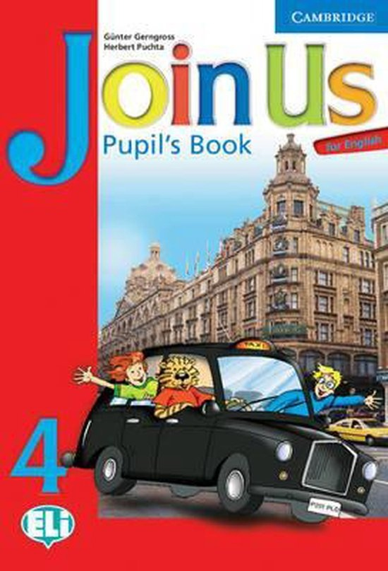 Join Us for English 4 Pupil´s Book