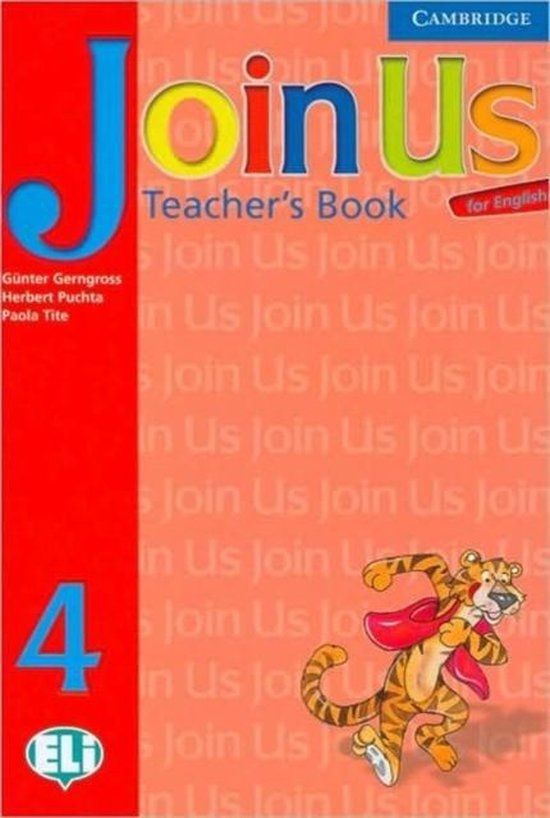 Join Us for English 4 Teachers Book