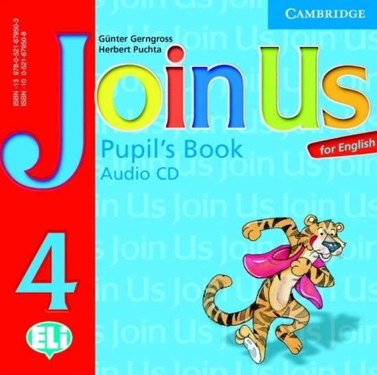 Join Us for English 4 Pupils Book Audio CD