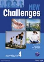 New Challenges 4 ActiveTeach (Interactive Whiteboard Software)