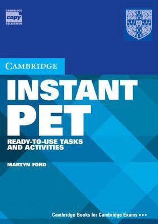 Instant PET Book