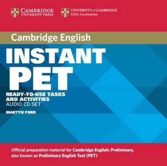 Instant PET Audio CD Set : 9780521611268