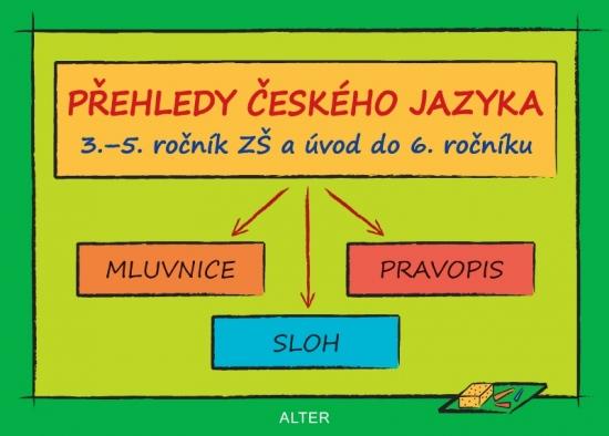 PŘEHLEDY ČESKÉHO JAZYKA 3.-5.r. ZŠ a úvod do 6.r.